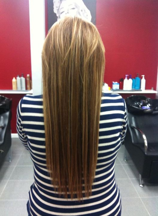 Before And After Fusion Hair Extensions The Best Invention For